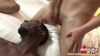 Landon fucked and cum drenched!