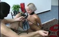 Hot Sexy Blonde Bondage Slut