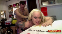 Busty Whore Takes Cock In TV Show (720)