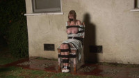 Bound and Gagged - Barefoot  in Bondage - Kelly KaneLorelei is Hosed Down in Bondage