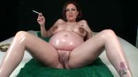 Pregnant smoking girl 06