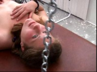 Reform School For Janelle — Hogtie Enemas And Caning