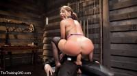 Big Ass Double Penetration Squirting Bondage Slave, Savannah Fox