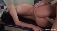 Sexy Brunette Girl Needs More From Him And His Office
