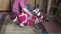 Busty hogtied - Jolie Rains Test - Part 3