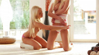 Story About Two Hot Blondes — Carla Cox, Naomi Nevena (1080)