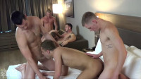 Depraved anal orgy