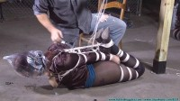 Riley is Captured, Belt Whipped, and Hogtied - Part 3