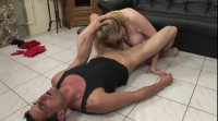 Fat blonde bitch will fulfill every dirty desire prick has