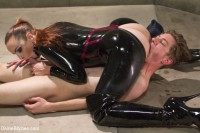 Download Bella Breaks in a New Toy at the Divine Bitches Milking Facility!