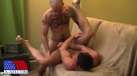 All American Heroes — Petty Officer Cam Fucks Lieutenant Zach