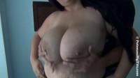 masked guy sucks big Natasha's tits
