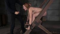 Girl next door Clair Robinns bound and brutally fucked by big dick, punishing deepthroat!