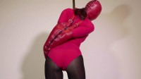 Red Bodysuit Armbinder