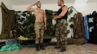 GayWarGames - Matthew & Jerome - Soldier Matthew 1