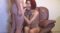 Redhead Mature Sucking And Fucking