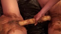 Dildo In Shit Scat