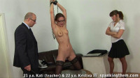 College teacher public humiliation and spanking