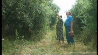 Petra & Dagmar - Plundering their neighbour's orchard