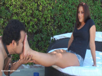 AmericanMeanGirls - Ms. Miesha - Ms. Miesha's Hot, Sweaty Feet