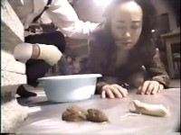 Eating shit and worms - Rare JAV Scat Video [1990 Release Year]