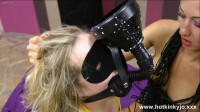 Extreme - Girl Abused and Tortured by Wax and Rubber Ribbon