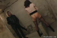 Brunette Captive Torment - PainVixens
