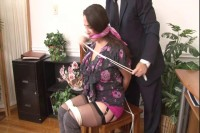 Bound and Gagged - Boss Ties Secretary at the Office - Jewell Marceau