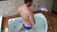 Muscle Jack In The Hot Tub with James Nowak