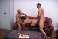Hot European babes in extreme bondage and rough oral action.