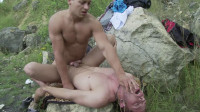 Twink Adventures - spit, mouth, hard fuck.