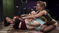 Pain Slut Pushed to Limits by Electro Latex Dominatrix