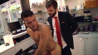Hector De Silva fucks Robbie Rojo's ass (1080p)