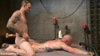 Christian Wilde beats the obedience back into a mouthy slave , sex videos father.
