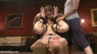 Lean hunk Rob Yaeger relentlessly edged & tormented ice - Live Show
