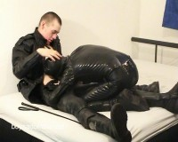 Boysadomaso - Leatherboy dominates a Rubberboy (2011)