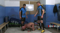 Cum Spurting Rugger Spit-Roast