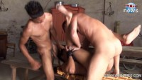 He gets roughly fucked and a good spanking as his reward