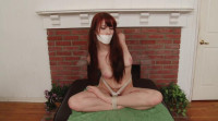 Bound and Gagged -Bound Naked and Barefoot - Gwen Stark