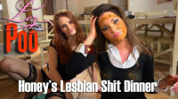 Download Honey's Lesbian Shit Dinner