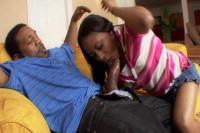 Horny black babysitters vol1