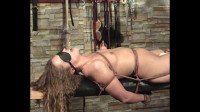 Amber Bench Tied Orgasm Part One