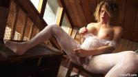 White Bodystocking