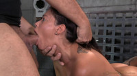 English rose Ava Dalush bound down on fucking machine, brutal drooling deepthroat multiple orgasms!