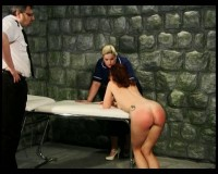 That would be stripping, slapping, probing, spanking