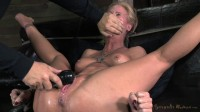 Simone Sonay roughy fucked by black cock