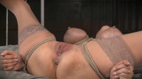 Rain Degrey Bound And Brutally Assfucked By 10 Inches Of Bbc !