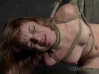 Allessandra loves bondage. And she starts zoning as soon as the ropes go on