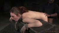 Lush brunneete Jodi Taylor bent over, bound and used hard with drooling deepthroat on BBC!