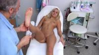 Catherine (19 years girl gyno exam)